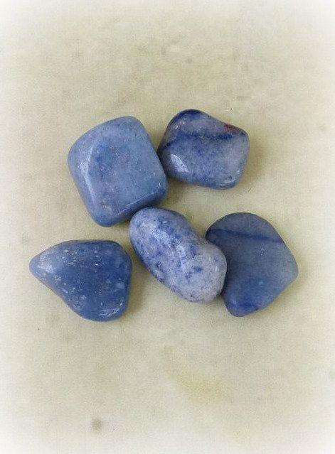 Blue Quartz Blue Quartz Tumbled Stones Healing Crystals Etsy Blue Quartz Crystal Healing Stones Tumbled Stones