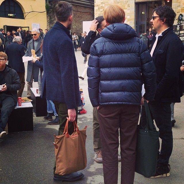 O'Hare Shopper Tote in Beige / Cognac