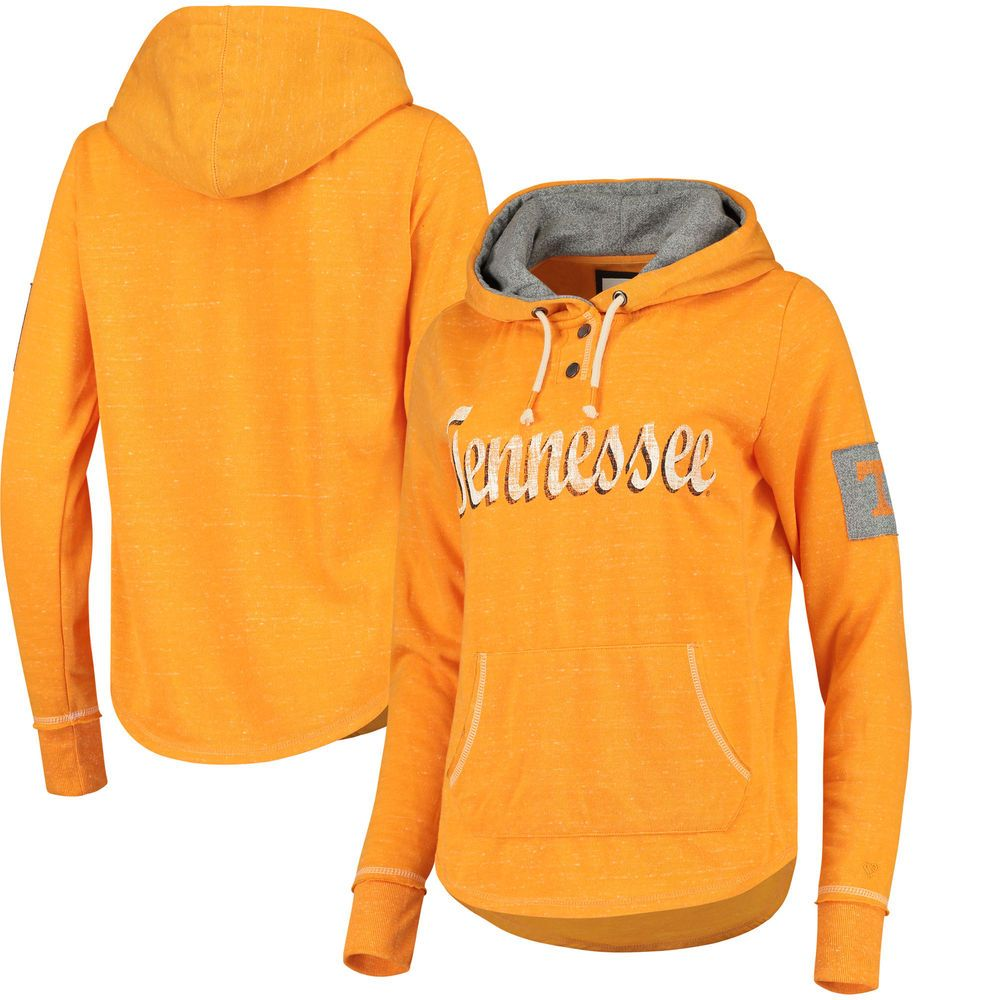Women S Colosseum Heathered Tennessee Orange Tennessee Volunteers Double Fleece Pullover Henley Hoodie Fleece Pullover Hoodies Hoodies Womens [ 1000 x 1000 Pixel ]