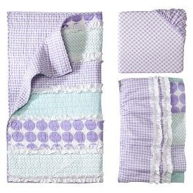 Castle Hill Maddie Lilac 3pc Crib Bedding Set Target