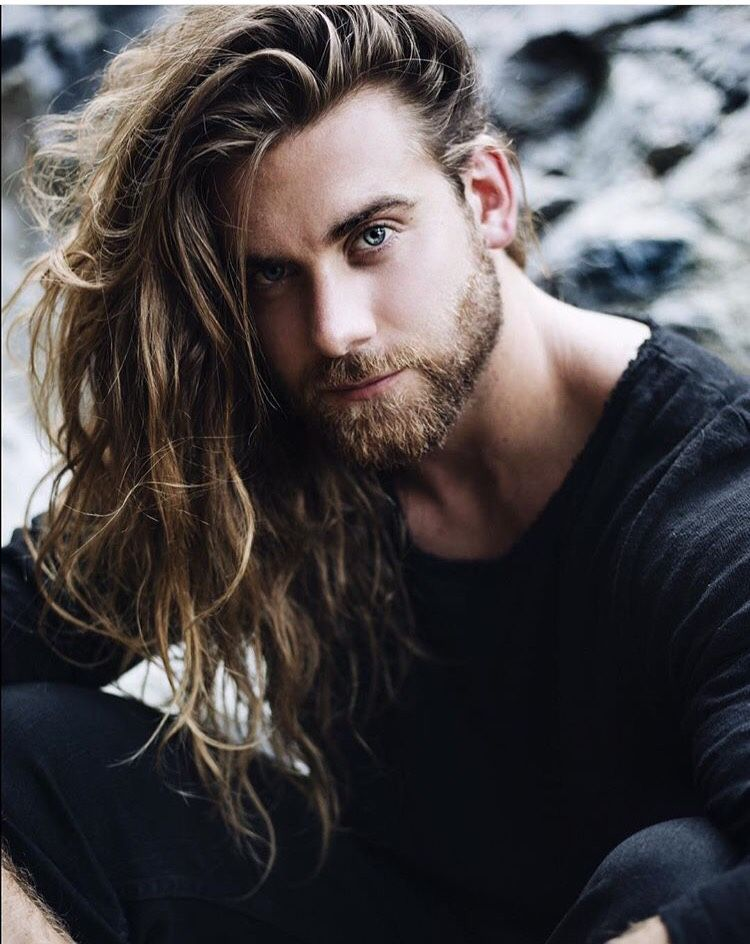 Follow If You Want Your Daily Dose Of Men With Long Hair No