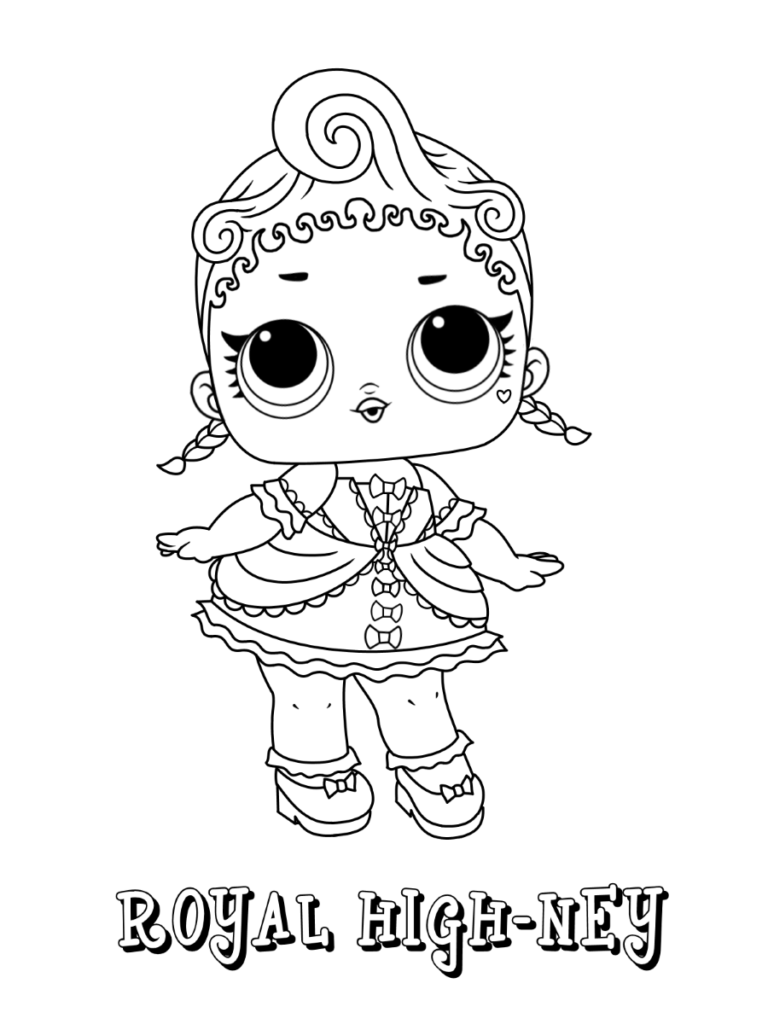 Lol Surprise Dolls Coloring Page Series 1 Royal High Ney Coloring Pages Cartoon Coloring Pages Lol