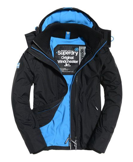Exclusive Superdry UK | Pop Zip Hooded Arctic Windcheater