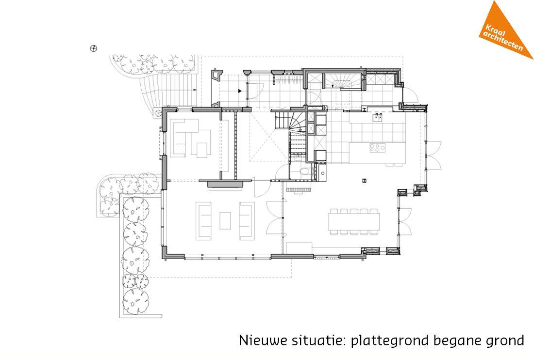 Kraal architecten   Villa   Bilthoven   Verbouwing   Uitbreiding ...