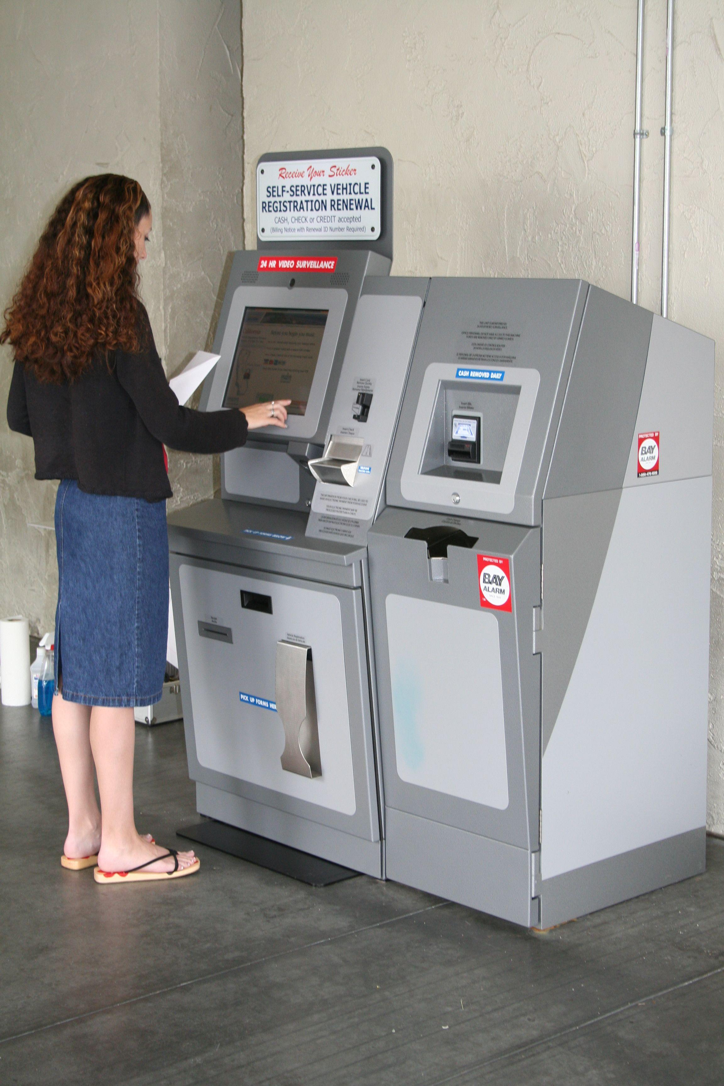 DMV Kiosk Home appliances, Kiosk, Washing machine