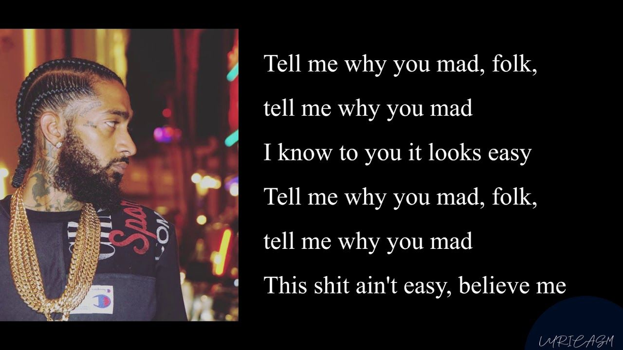nipsey hussle grinding all my life lyrics