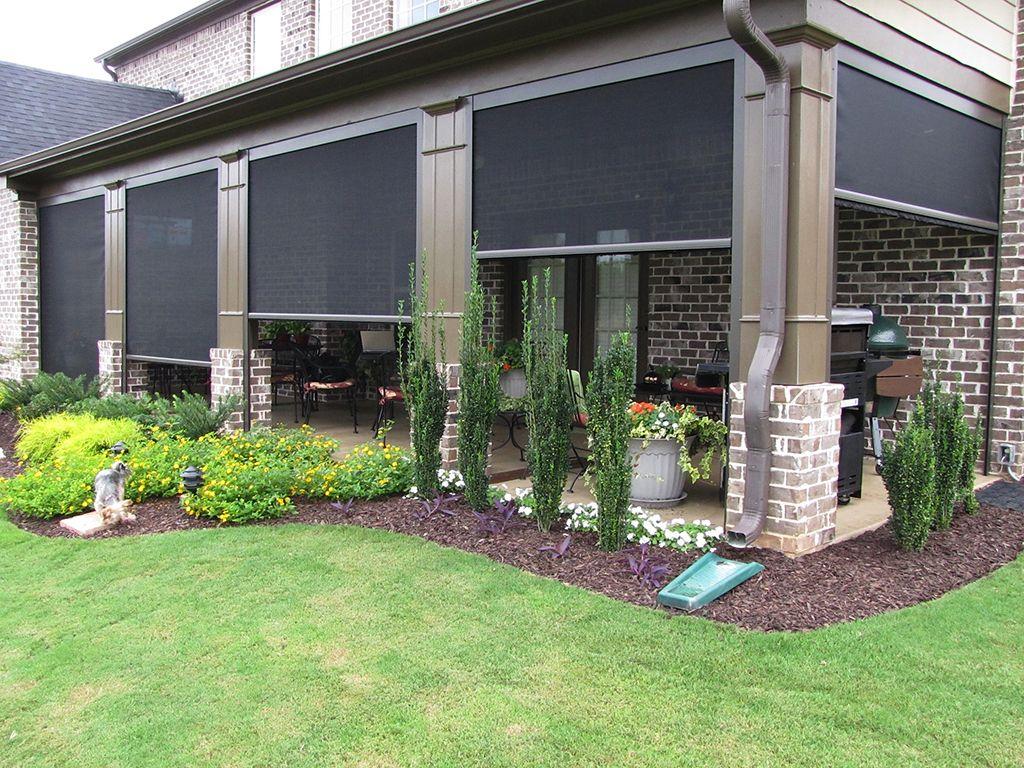 Home In 2019 Solar Screens Backyard Patio Designs