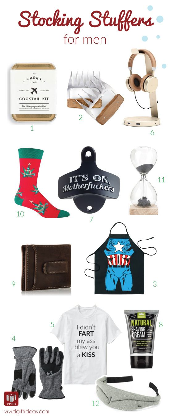 fun and cool stocking stuffer ideas for men best christmas gifts for him
