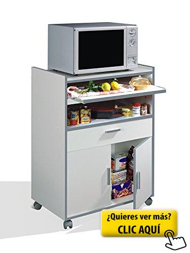 Habitdesign 009910O - Mueble auxiliar mesa cocina... #mueble ...