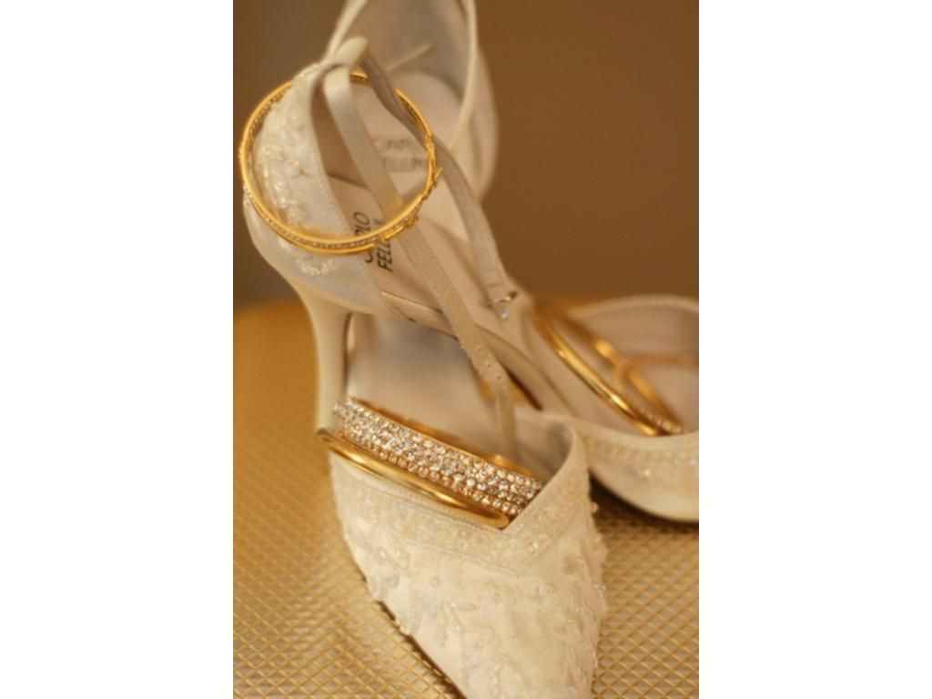 Used Ivory Shoes find it for sale on PreOwnedWeddingDresses.com