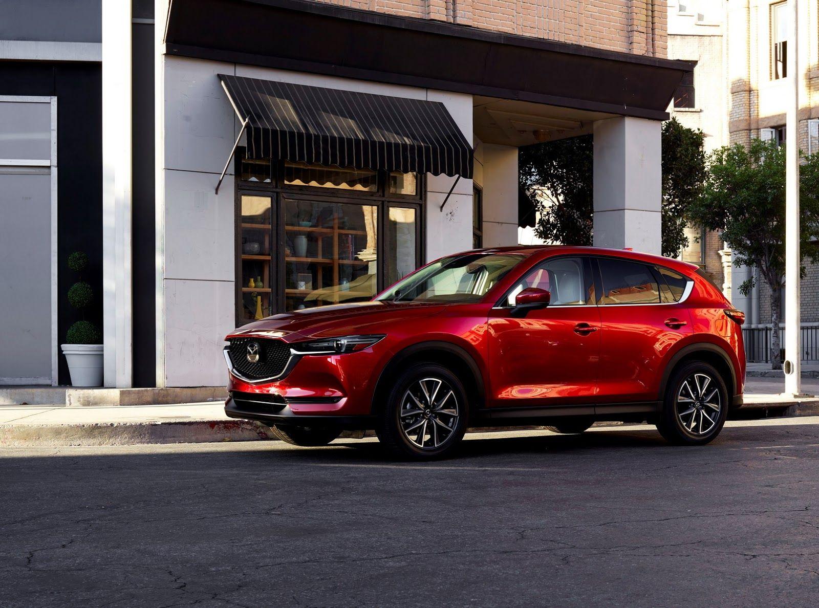 Mazda S All New 2017 Cx 5 Gets Overhauled Design And New Tech Avto