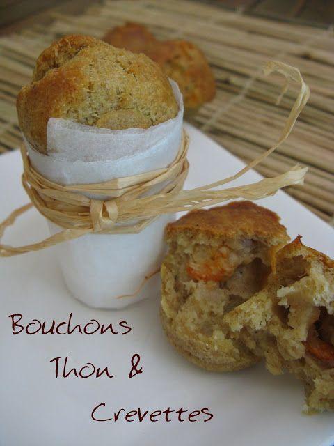 J'en reprendrai bien un bout...: Bouchons Thon & Crevettes