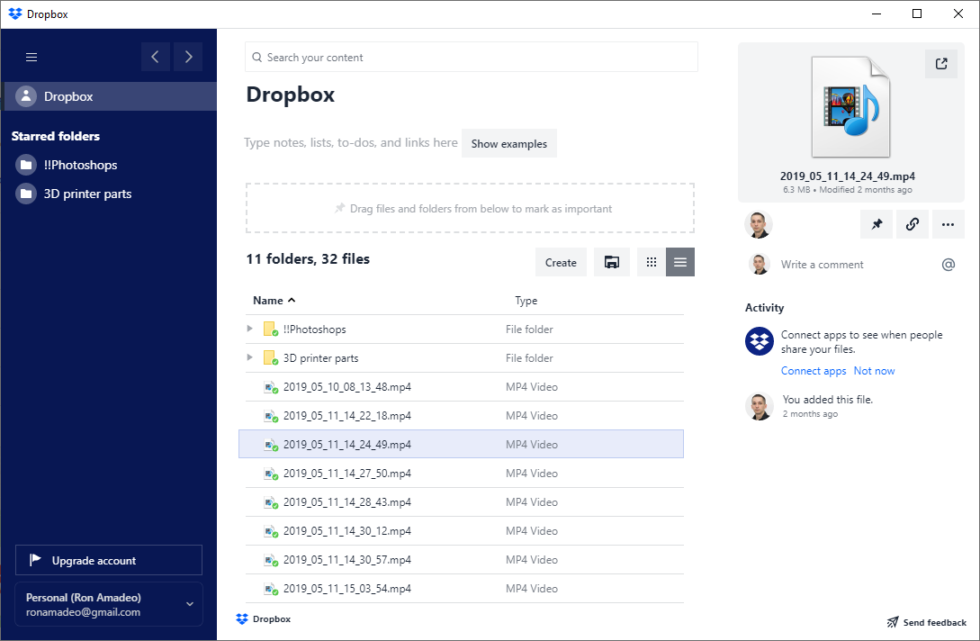 Dropbox silently installs new file manager app on users