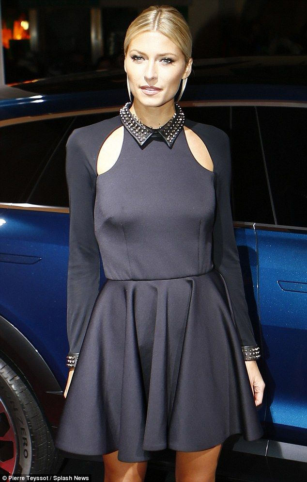 Irina Shayk Shows Off Her Ample Assets At Audi Night In