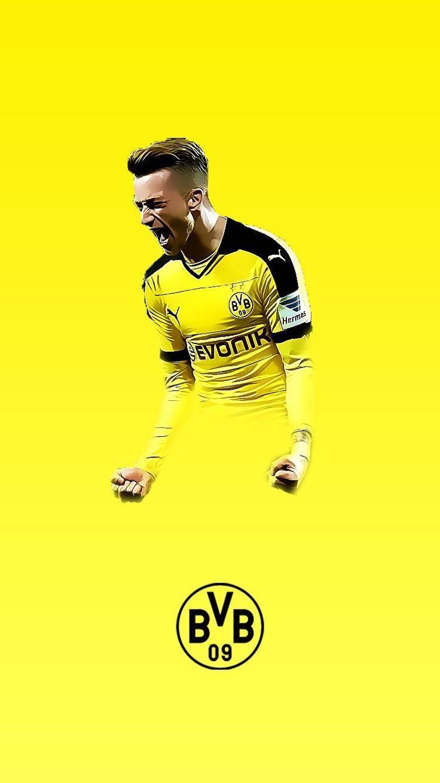 Reus Bvb Dortmund Reus Soccer Artwork Football Design