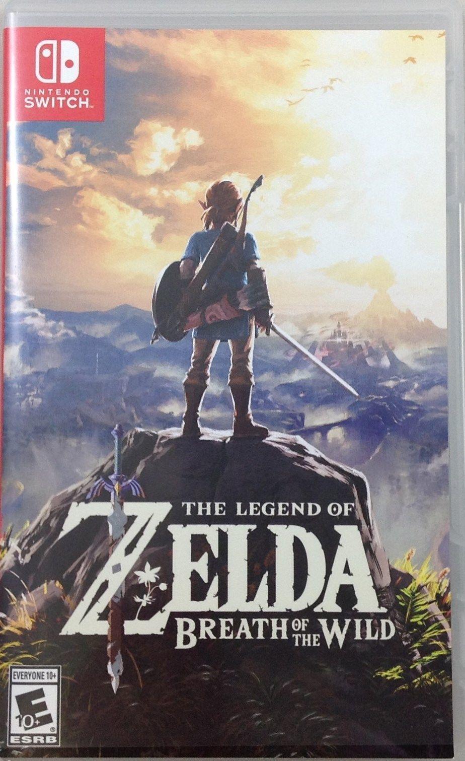 Zelda Breath Of The Wild Ps4 legend of zelda: breath of the wild (nintendo switch, 2017) (1487