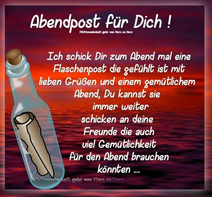 sprüche schönen abend Danke Daizo. | Sprüche Karten | Pinterest | Good night, Good  sprüche schönen abend