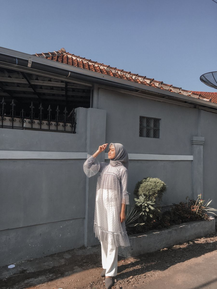 Dekorasi Atap Kain Batik