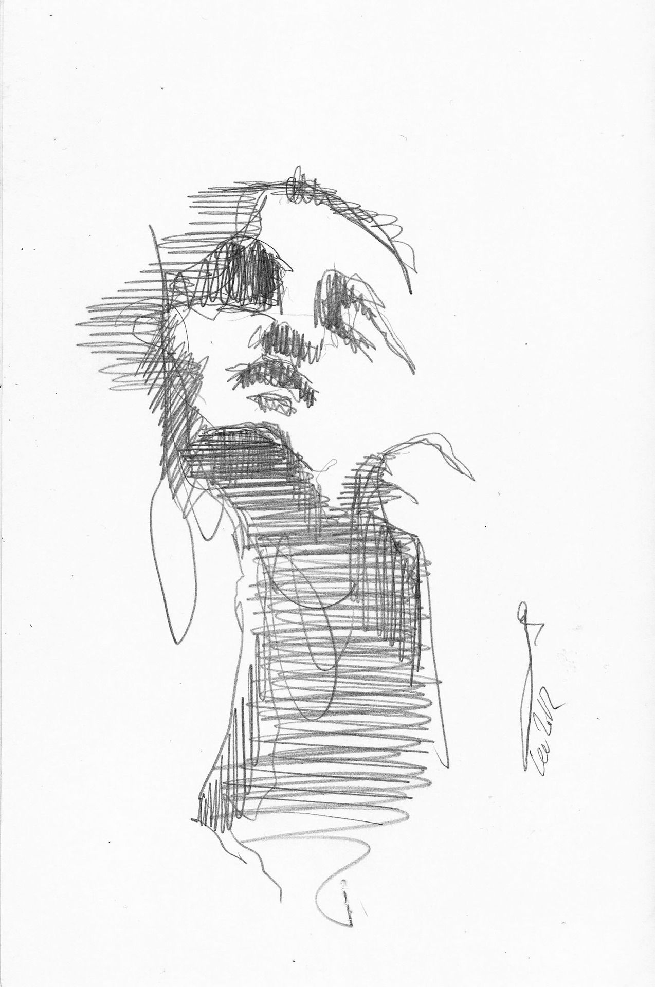 Its been a while..Thanks for waiting! Fast sketch 01 Lee Woodman 2012
