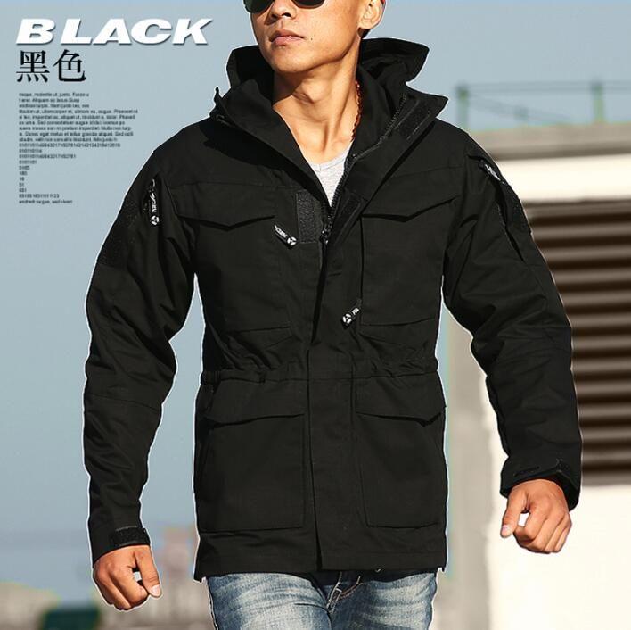 Men coat M65 jacke Chaqueta militar hombre Chaquetas militares