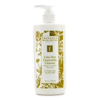Eminence - Calm Skin Chamomile Cleanser (Sensitive Skin) -250ml/8.4oz Tbest 2 Colors Round Konjac Wash Face Flutter Natural Facial Care Cleansing Gently Facial Puff, Cleansing Puff, Konjac Sponge
