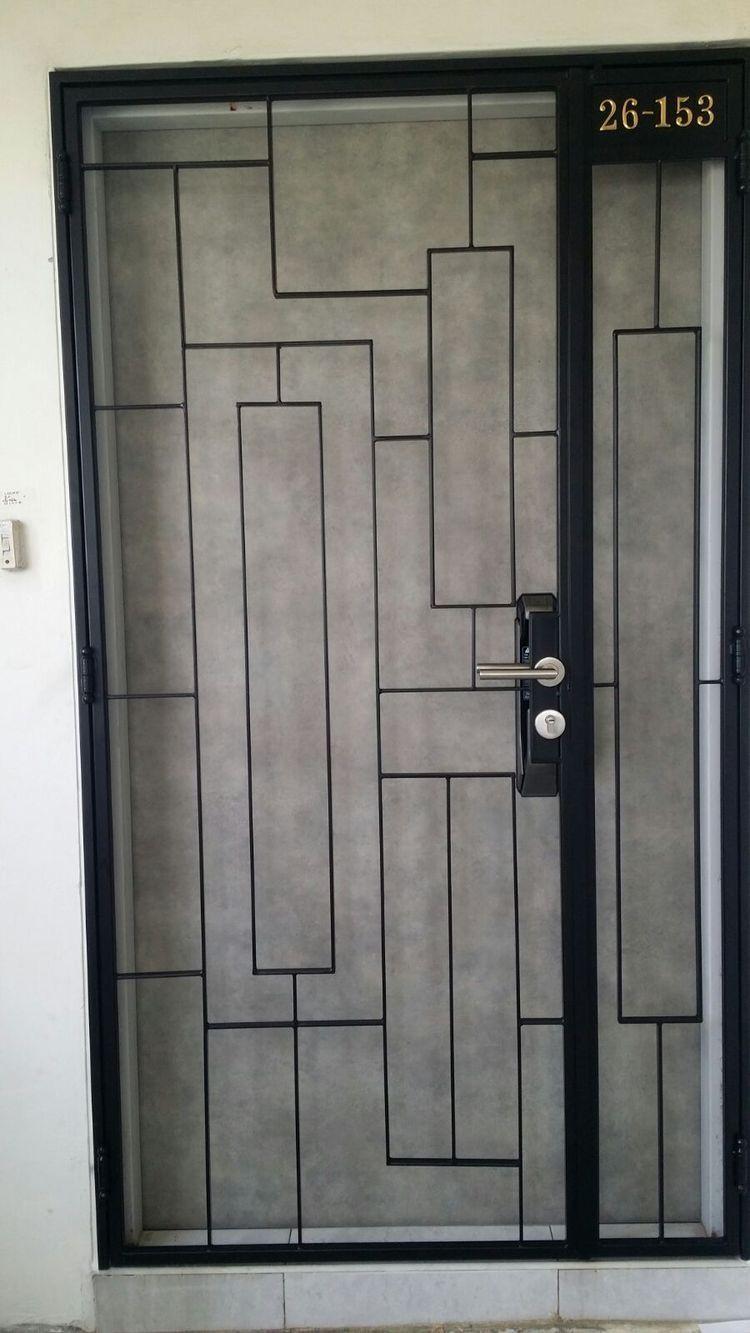 Home | Grill door design, Window grill design, Steel gate ...
