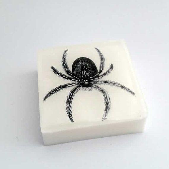 Tarantula Spider Halloween Soap by Dallas Soap Company on Etsy #Halloween #spiders