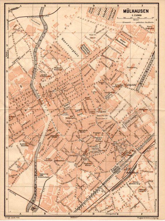 1909 Mulhouse France Mlhausen Frankreich Milhsa Alsace Haut