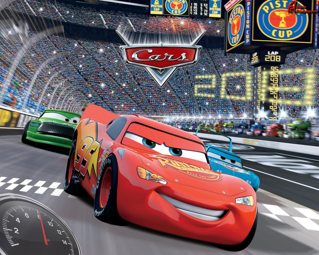 Disney Cars 2 HD Wallpaper For IPad Mini 3   Cartoons Wallpapers