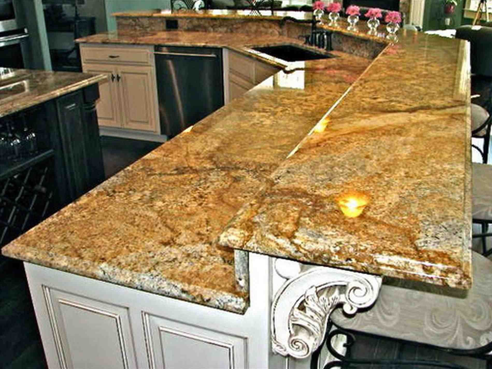 New different materials for kitchen countertops at temasistemi