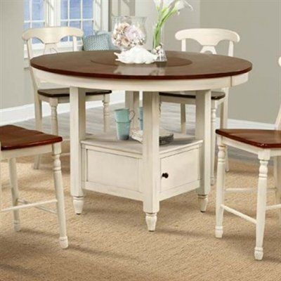 A America Bri British Isles 52 In Round Counter Height Dining