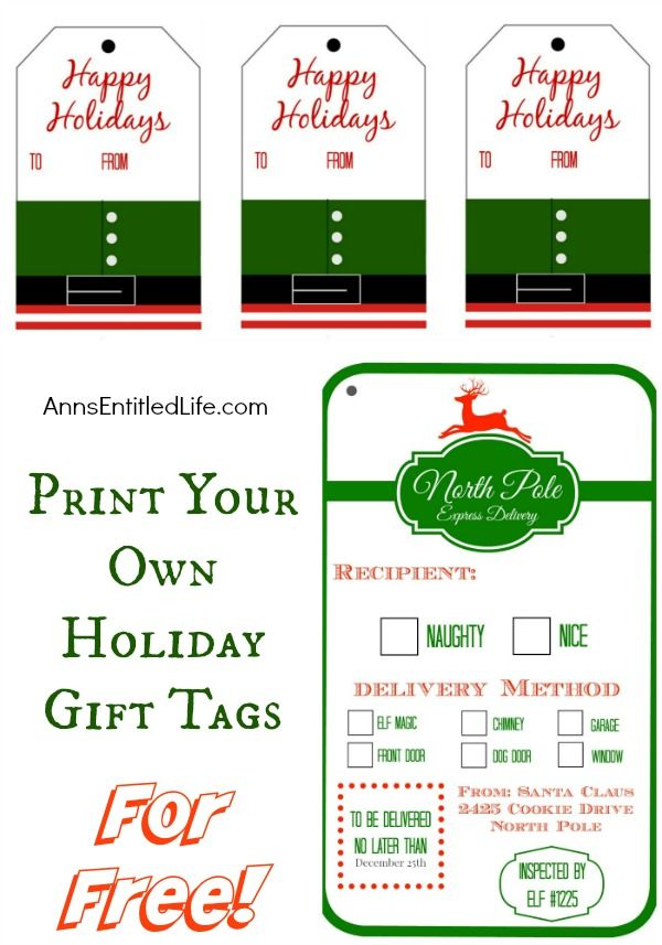 print your own christmas gift tags print your own gift tags this