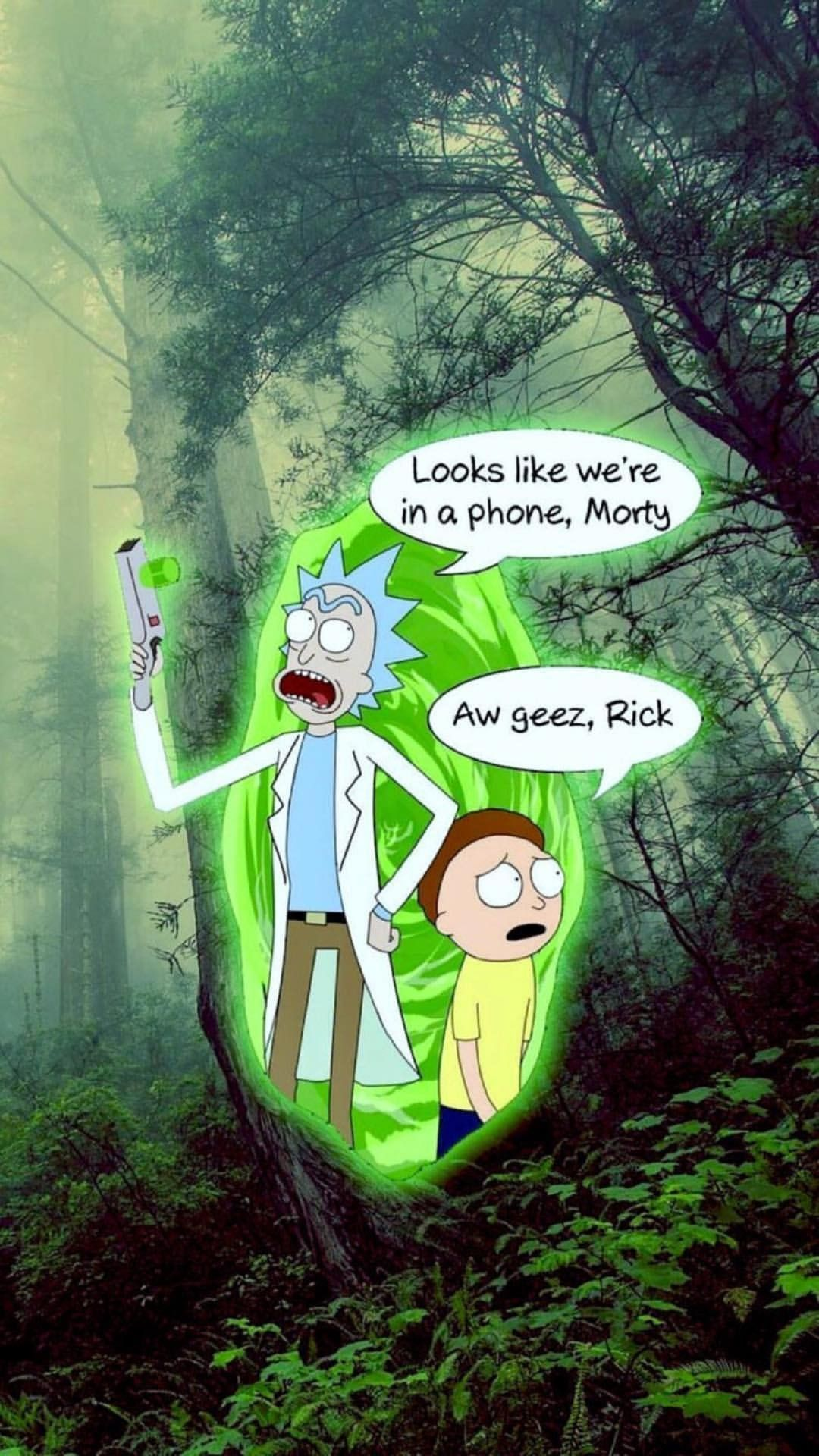 Pin By Sorex Araneus On Wallpaper Rick And Morty Quotes Iphone Wallpaper Rick And Morty Rick And Morty Poster