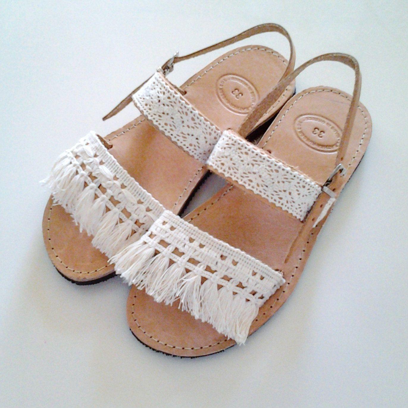 2cbdcf674c8496 Boho Kids Leather Sandals