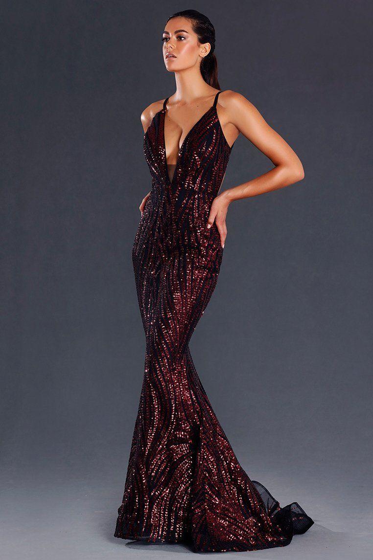 Saffy Sequin Formal Dress Wine Formal Dresses Online Sequin Formal Dress Gowns [ 1145 x 762 Pixel ]