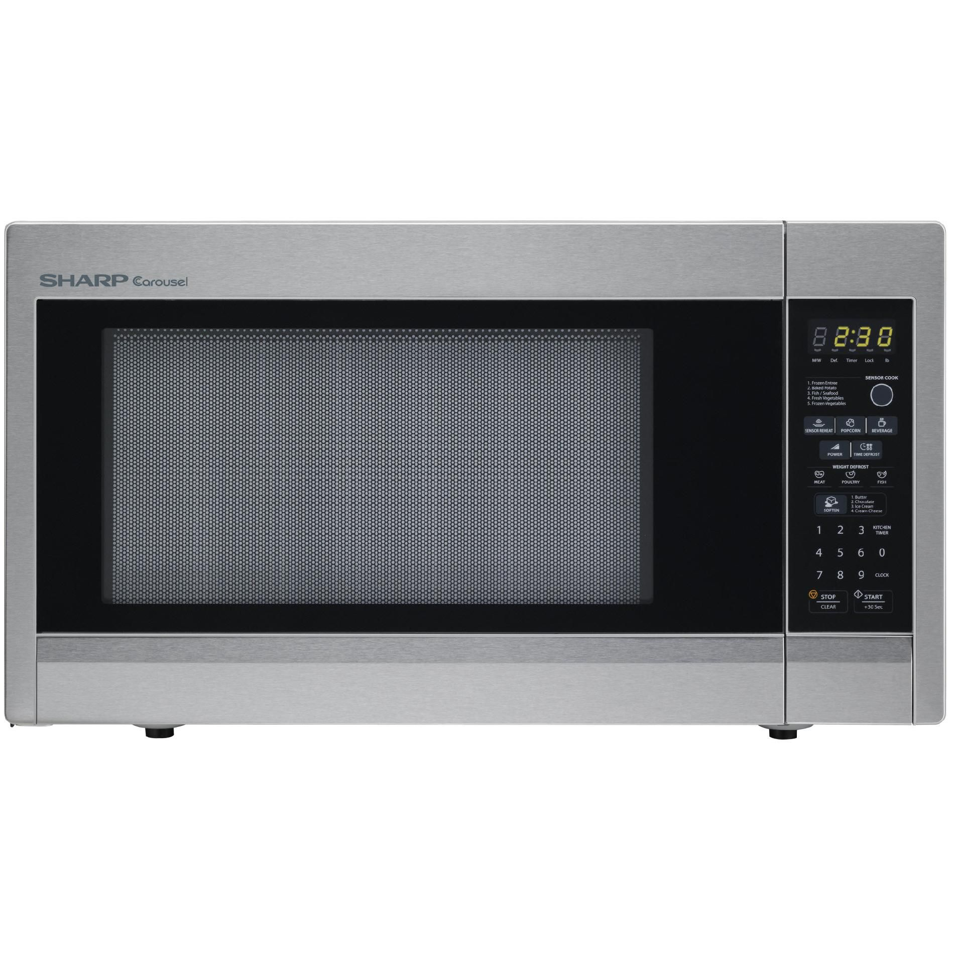 Default Title Stainless Steel Oven Microwave Oven Microwave