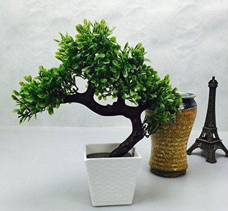 Charmant Amazon.com: Artificial Plants Guest Greeting Pine Bonsai Home Decoration:  Home U0026 Kitchen