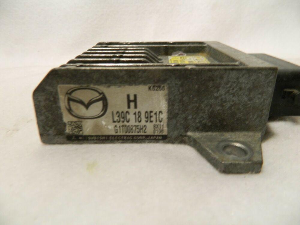 2008 2010 Mazda 5 Transmission Control Unit L39c189e1c Tcu Tcm Module Mazda Mazda Mazda 3 Control Unit