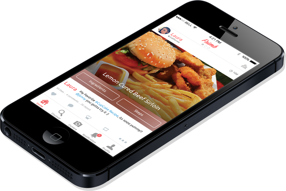 Frimb a food recipe sharingapp the best a food lover can get frimb is a recipe sharing app with social networking features for iphone and android read how peerbits has developed this mobile app to connect foody forumfinder Gallery