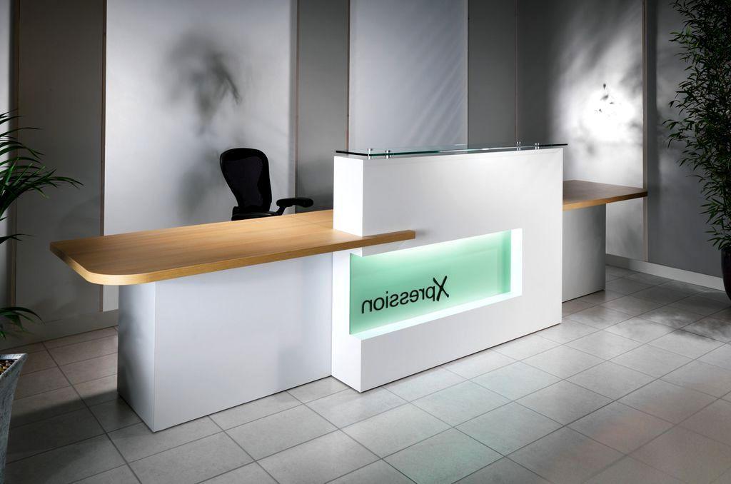 office desk design. Office Front Desk Design E