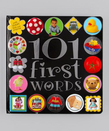 Take a look at this 101 First Words Board Book by Make Believe Ideas on #zulily today!