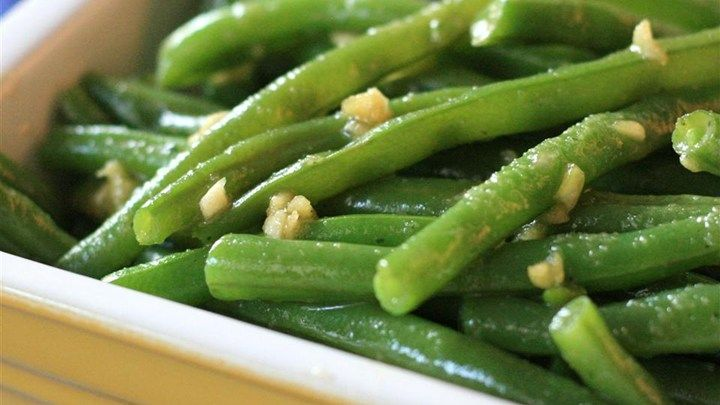 Deluxe Garlic Green Beans Recipe And