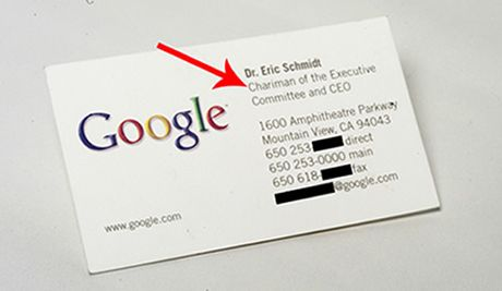 Read The Smiths Top 25 Funniest Public Misspellings Google Business Card Ceo Business Card Business Cards