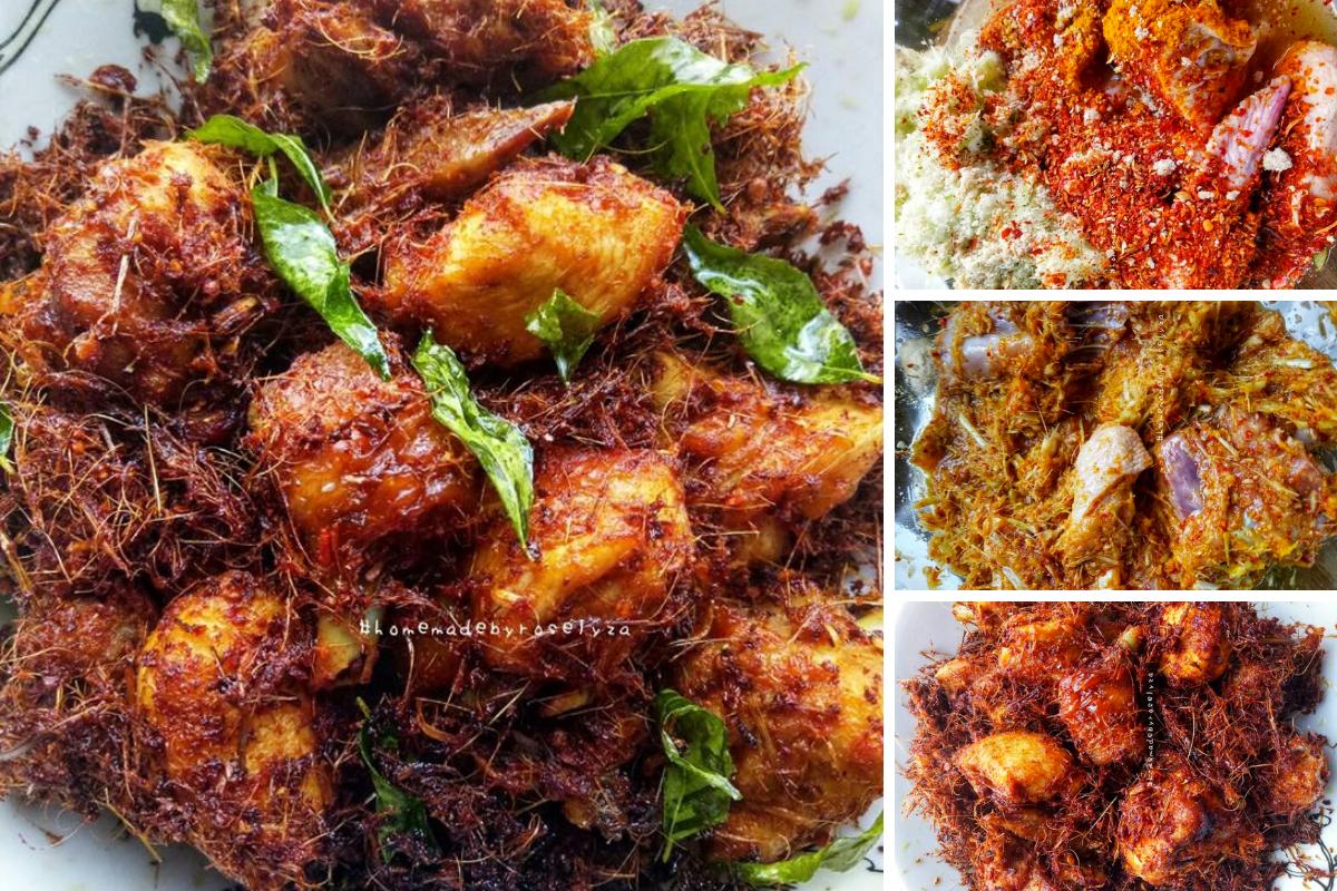 Resipi Ayam Goreng Berempah Yang Sangat Mudah Dan Rasanya Sangat Sedap Yang Boleh Dihasilkan Secara Homemade Kena C Cooking Recipes Malay Food Chicken Recipes