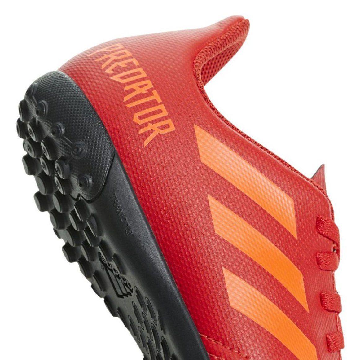 Buty piłkarskie adidas Predator 19.4 Tf Jr CM8557 czerwony