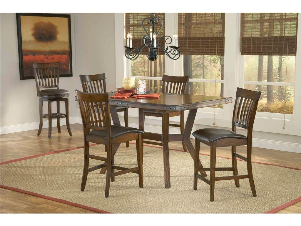 Hilale Furniture Dining Room Arbor Hill Extension Gathering Table 4232 835 Ttes Leesburg Fl