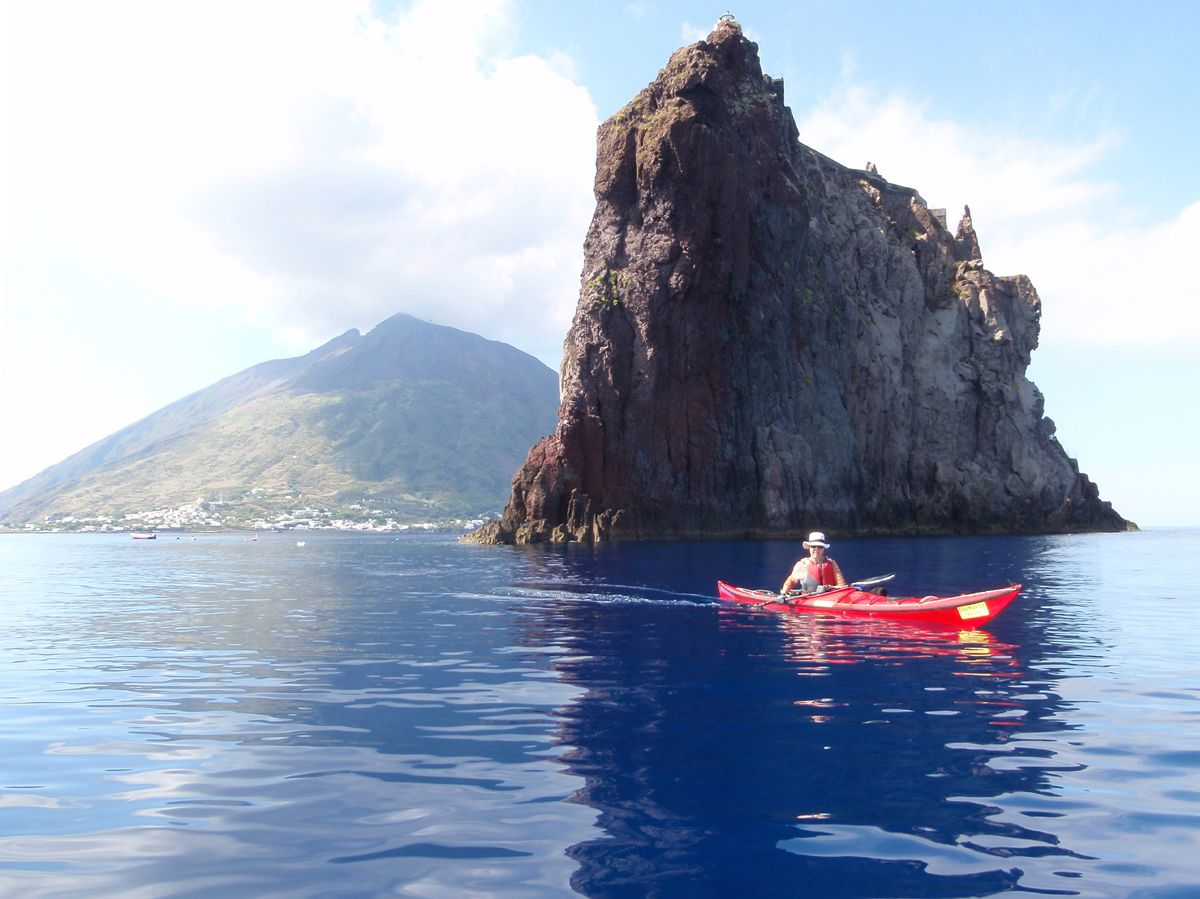4. Strombolicchio in front of Stromboli Island, Sicily by