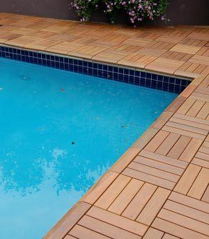 Interlocking Deck Patio Tiles Pool Deck Tile Swimming Pool Decks Pool Decks