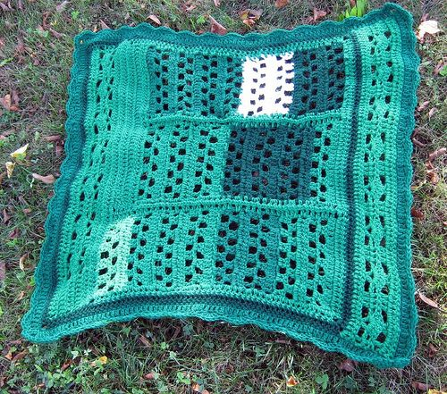 scrap crochet lapghan