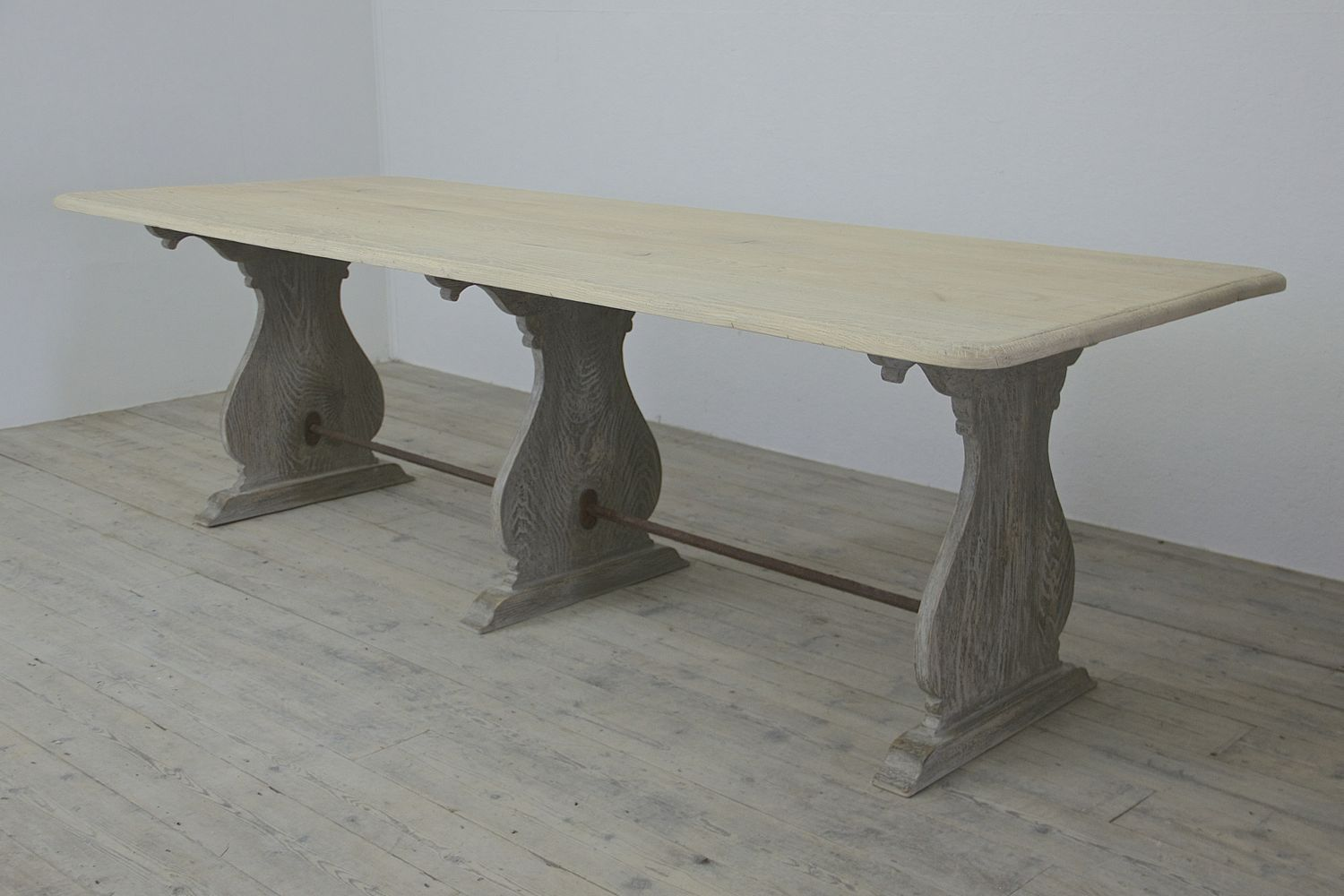 The Raccolta Table. http://www.matthewcox.com/product/the-raccolta-table-–-an-ash-and-wrought-iron-trestle-table-inspired-by-the-simple-furniture-found-in-the-abandoned-chapel-of-c16th-villa-raccolta